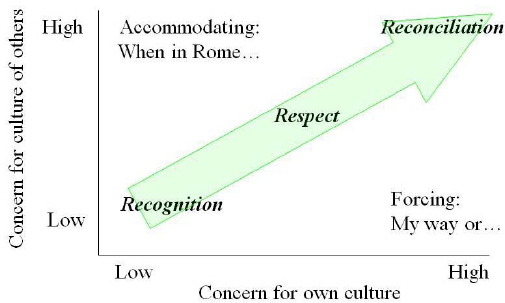 Cultural Maturity (Adapted from Trompenaars & Hampden-Turner, 2003)