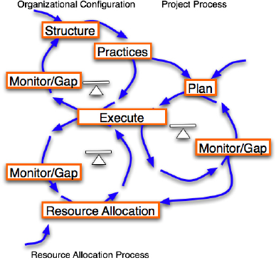 The project in the organizational context