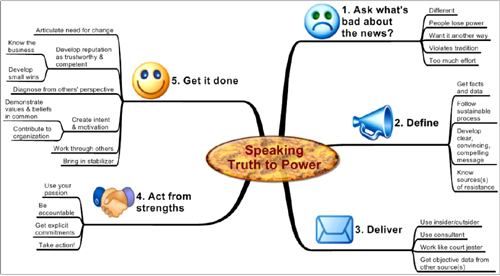 Process and Assessment Tool for Speaking Truth to Power