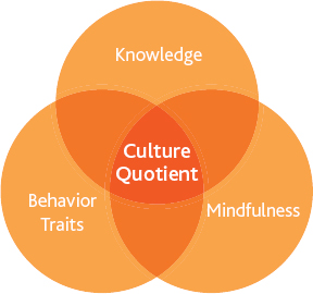 The three elements of the cultural quotient