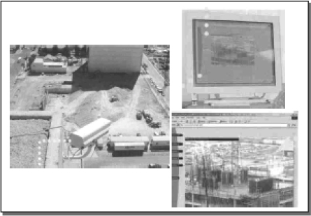 On- line project monitoring using Web cams (Source: Angelo, 2001)