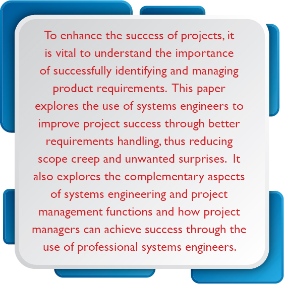 Systems Engineering The Project - Technical requirements project management