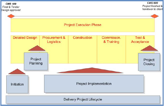 The client engagement and delivery project life cycles