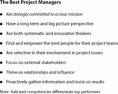 The Best Project Managers