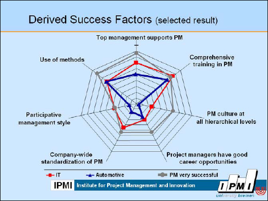Success Factors for PM