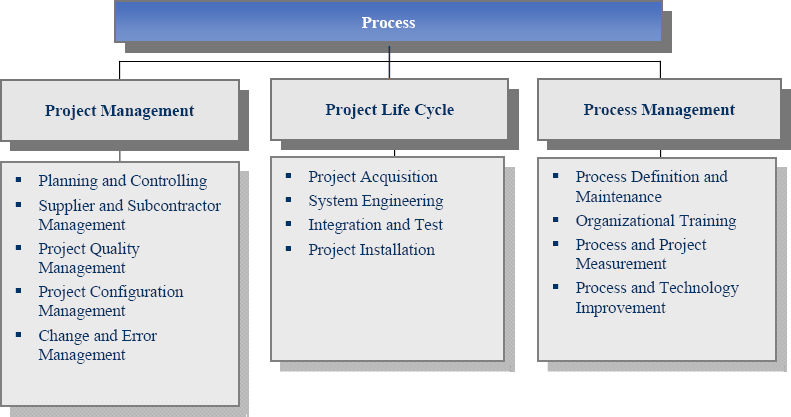 Process and Sub-process Areas of MPM Assessment Protocol