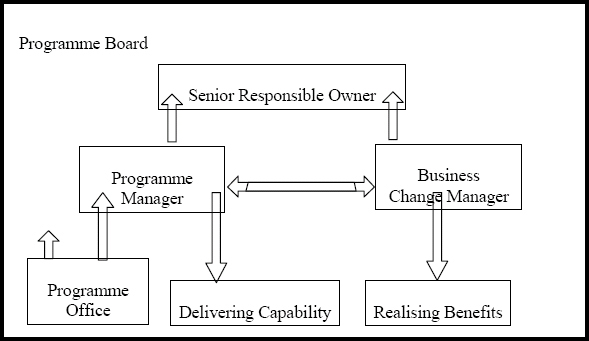 Organizational structure for Programs, © Crown Copyright 2007, Page 30, Managing Successful Programmes