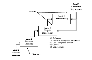 Kerzner's project management maturity levels