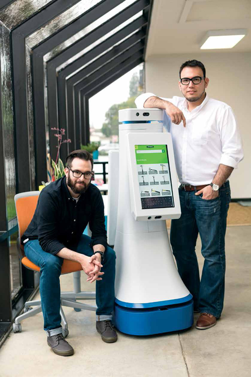 Kyle Nel and Marco Mascorro, Lowe's Innovation Lab, Mountain View, California, USA