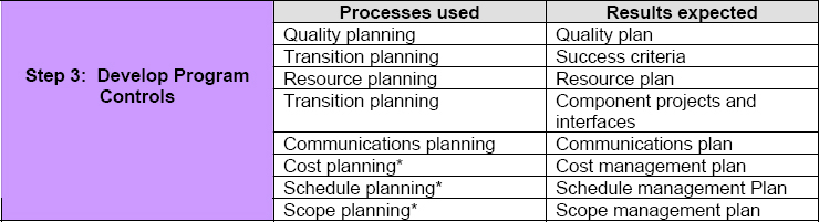 Thin Business Continuity Program Management Structure